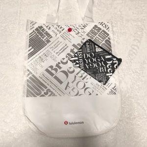 Lululemon shopping bag 20% off with bundle